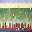猫ノ森に降る雨